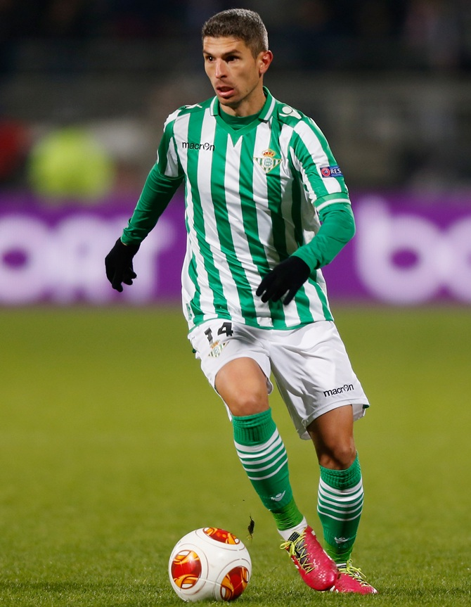 Salvador Sevilla of Real Betis