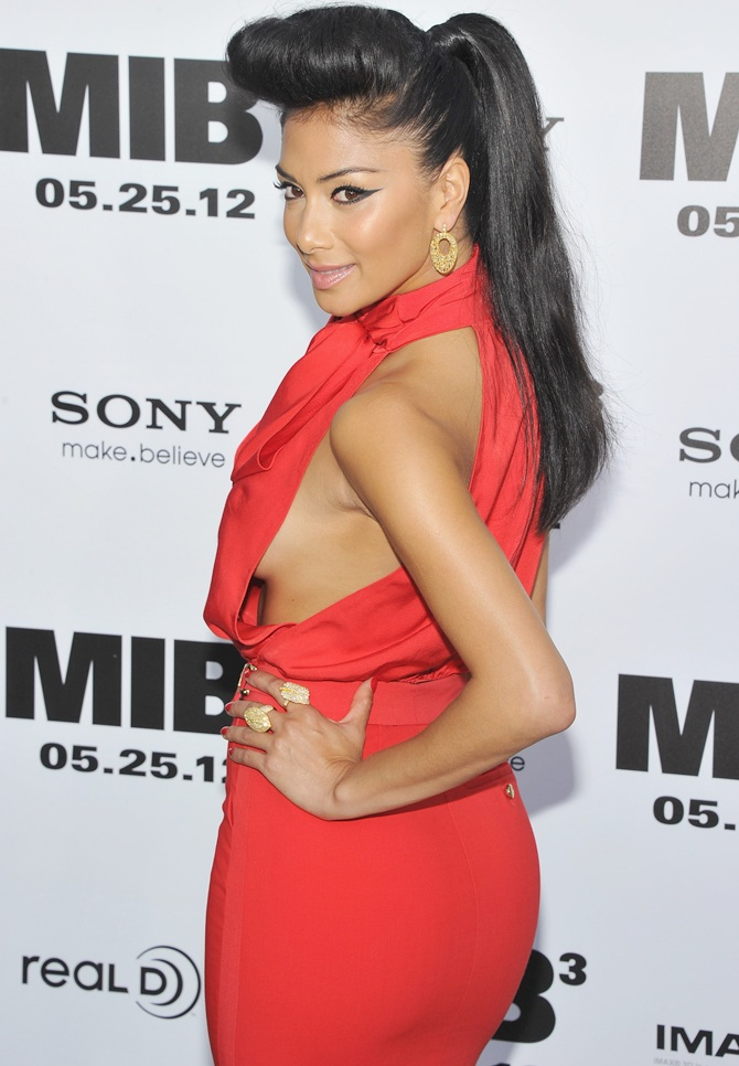 Nicole Scherzinger attends the 'Men In Black 3' New York  Premiere at Ziegfeld Theatre