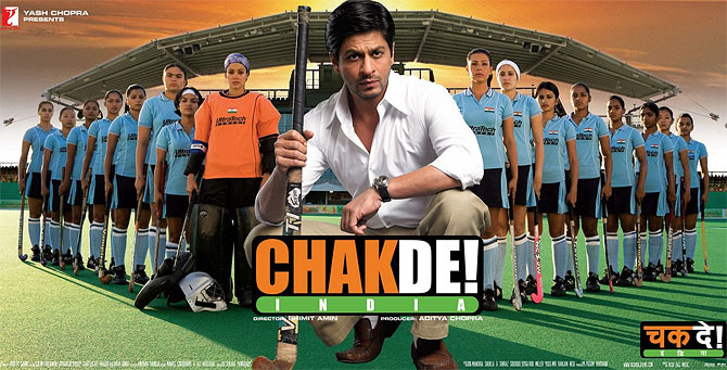 Shah Rukh Khan's Chak De! India