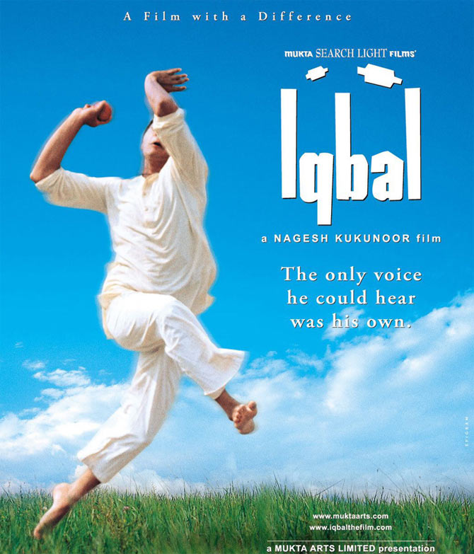 A poster of Iqbal