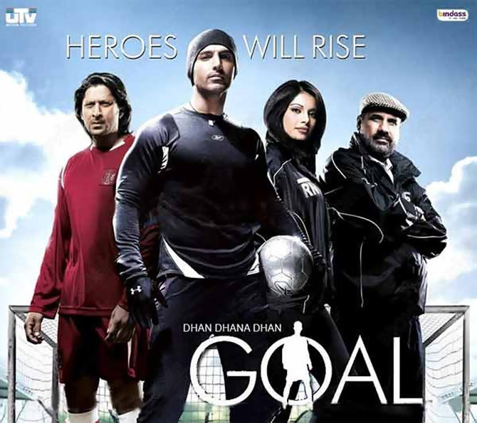 A promotional still from Dhan Dhana Dhan Goal