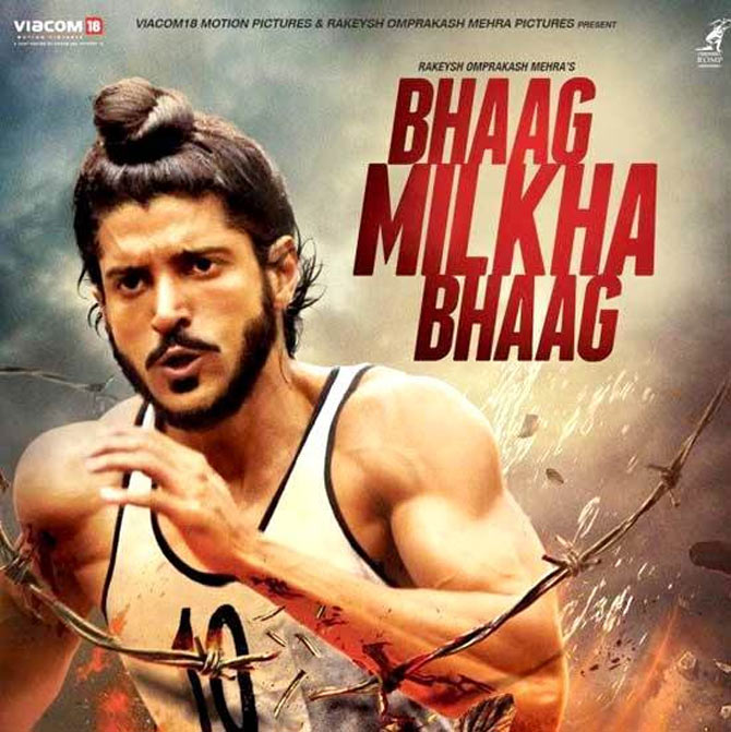 Farhan Akhtar came up with an award winning performance in Bhaag Milkha Bhaag