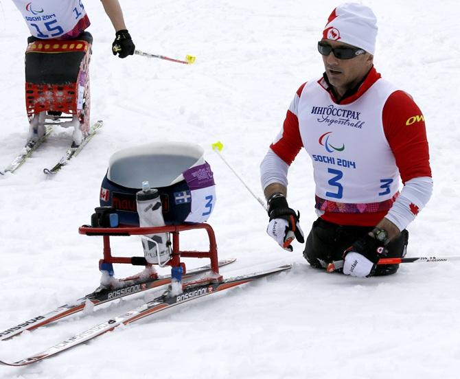 Yves Bourque of Canada
