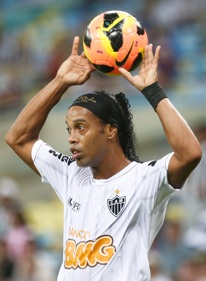 Ronaldinho Gaucho of Atletico MG