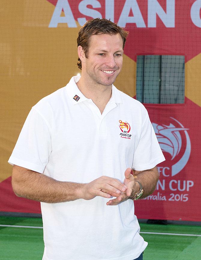 Australian footballer Lucas Neill