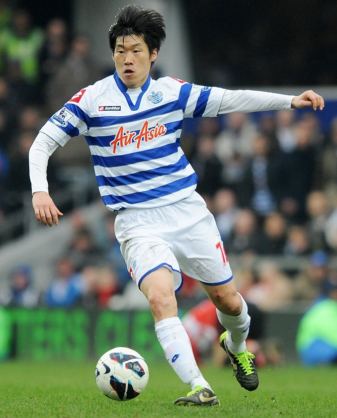 Ji-Sung Park of Queens Park Rangers in action
