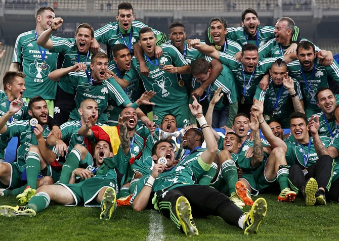 Panathinaikos claim Champions League qualifying berth