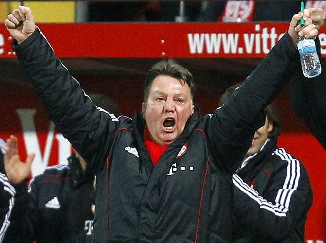 Party animal Van Gaal the perfect fit for Manchester United
