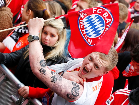 Bayern Munich supporters