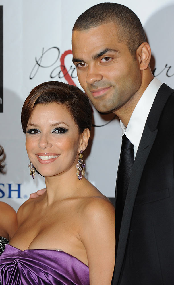 Tony Parker with Eva Longoria