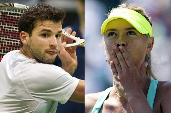 Grigor Dimitrov and Maria Sharapova