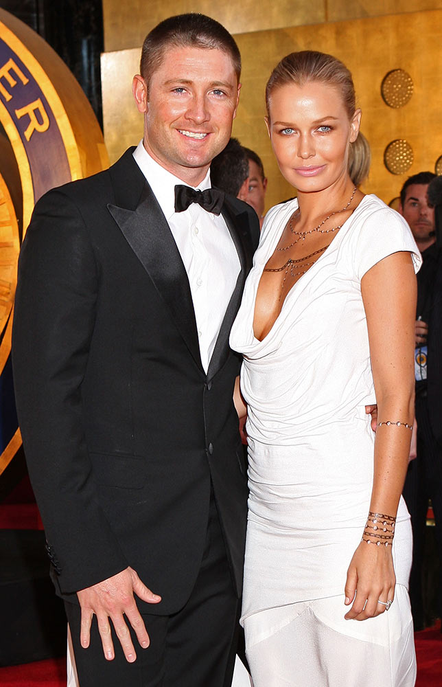 Michael Clarke with Lara Bingle
