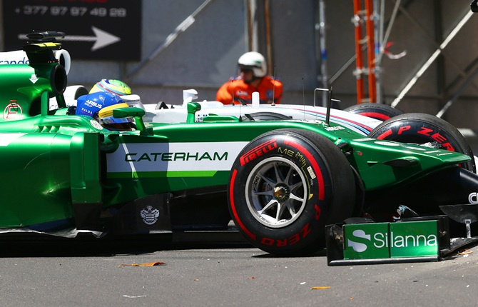 Marcus Ericsson of Sweden and Caterham