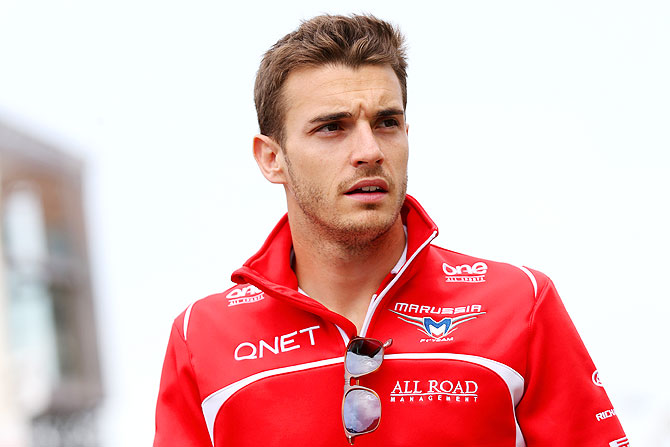 Jules Bianchi of France and Marussia