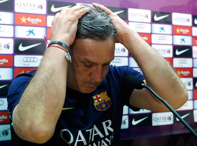 Former Barcelona coach Gerardo Martino