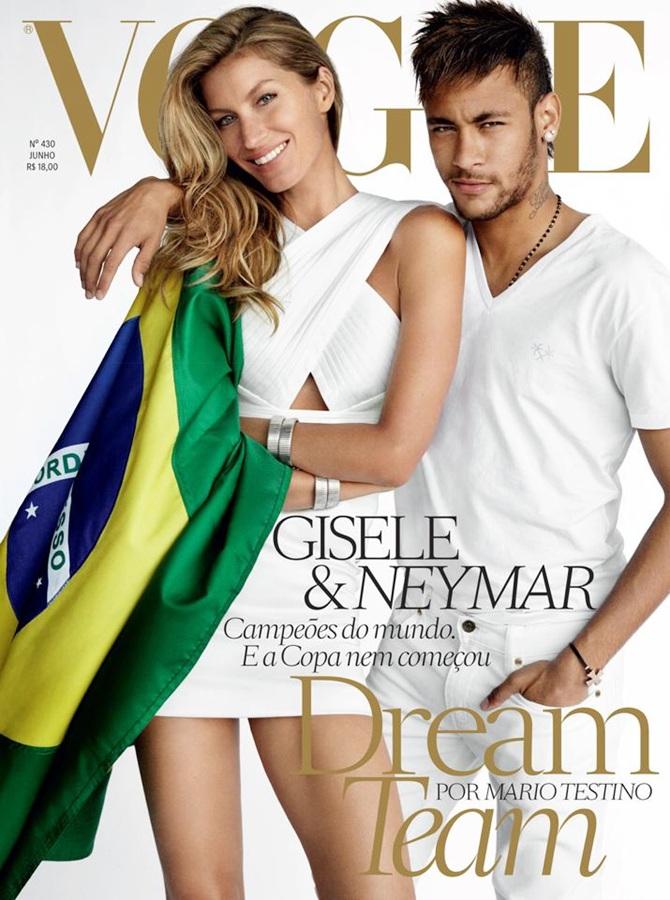Gisele Bundchen with Neymar