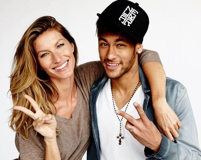 Gisele Bundchen and Neymar