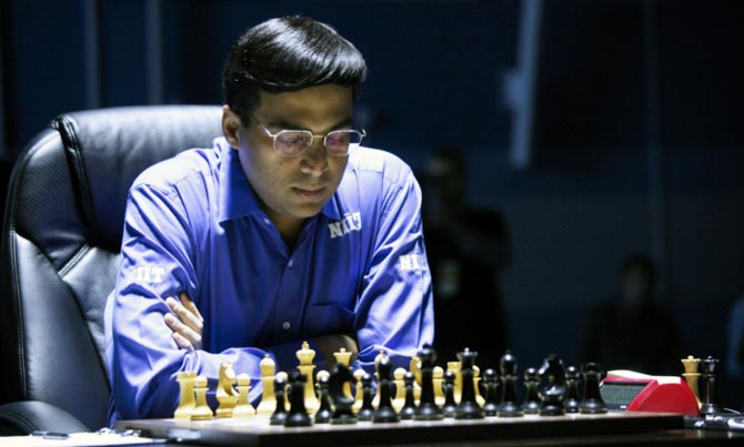 Viswanathan Anand of India