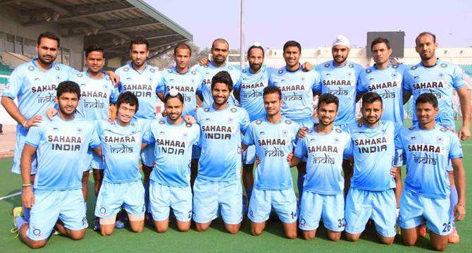 India's squad for the men's Champions Trophy hockey