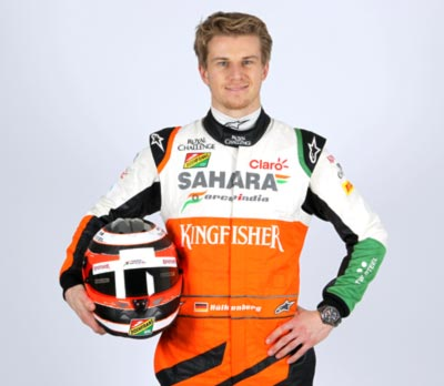 Rediff Sports - Cricket, Indian hockey, Tennis, Football, Chess, Golf - Hulkenberg secures Force India seat for 2015