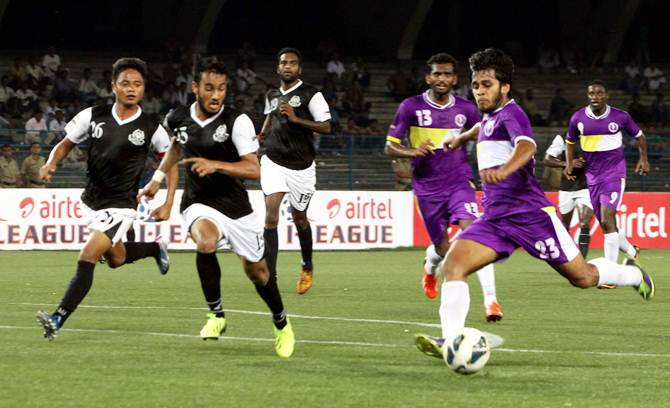 Rediff Sports - Cricket, Indian hockey, Tennis, Football, Chess, Golf - Mohd. Sporting dismiss talk of closure, says will not play in I-League Div 2