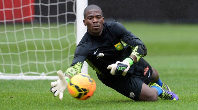 south africa sports national soccer african team captain action senzo meyiwa rediff shocked murder training du