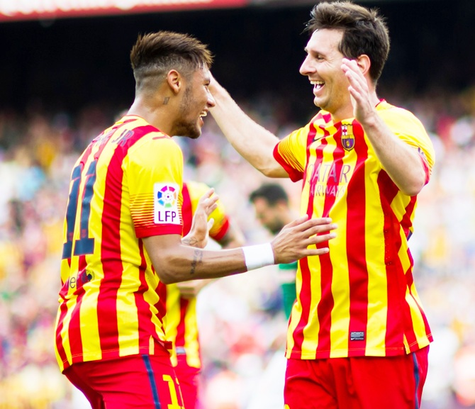CL Preview: Lethal partnership of Messi-Neymar clicking