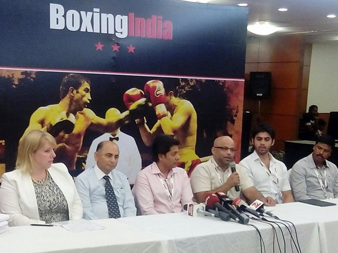 Rediff Sports - Cricket, Indian hockey, Tennis, Football, Chess, Golf - Relief for Indian boxers as AIBA recognise new federation