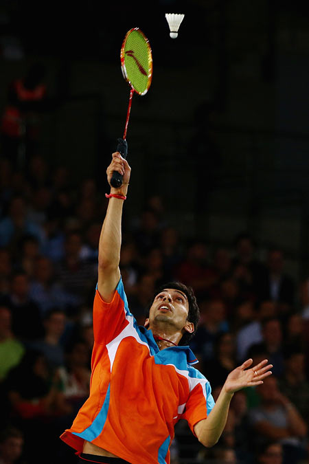 Rediff Sports - Cricket, Indian hockey, Tennis, Football, Chess, Golf - Gurusaidutt confident of avenging Thomas Cup loss to Korea