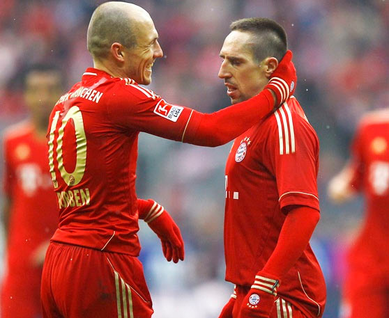 Champions League: Bayern's injury woes continue as Ribery out vs City