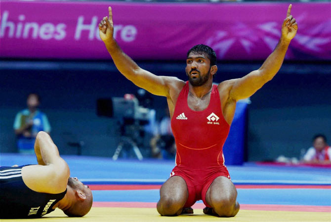 Rediff Sports - Cricket, Indian hockey, Tennis, Football, Chess, Golf - Yogeshwar Dutt's search for grand swansong continues