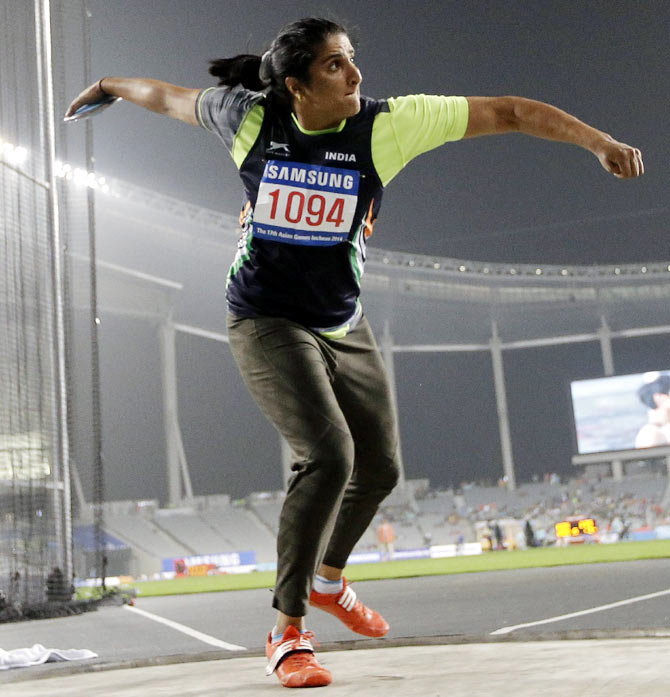Tainted but celebrated Seema eyes perfect end to CWG career