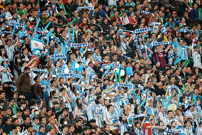 Fans of Argentina (This image is used for representational purposes only)