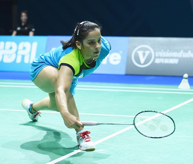Rediff Sports - Cricket, Indian hockey, Tennis, Football, Chess, Golf - Asia Badminton C'ships: Saina fails to break semis jinx