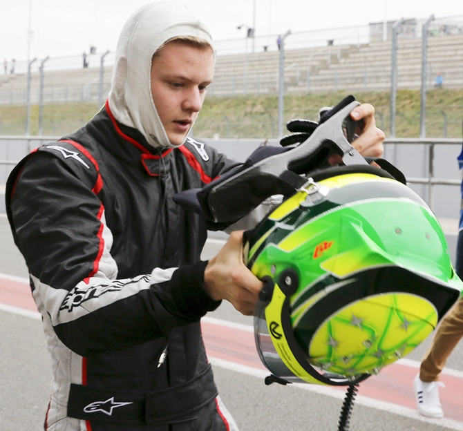 Schumi's son continues pursuit towards Formula One