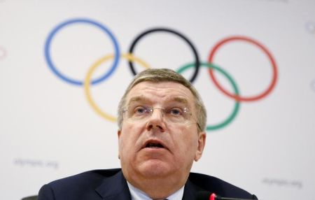 IOC chief Thomas Bach
