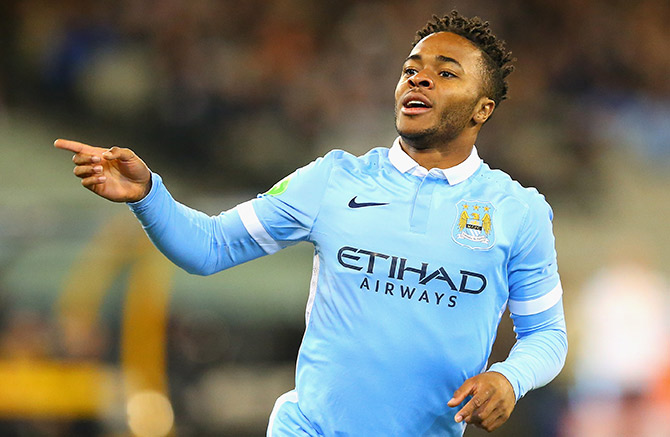 Rediff Sports - Cricket, Indian hockey, Tennis, Football, Chess, Golf - Football Briefs: Sterling expects Manchester City to 'punish' opponents