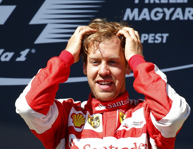 Vettel blasts 'circus' nature of F1's new qualifying format