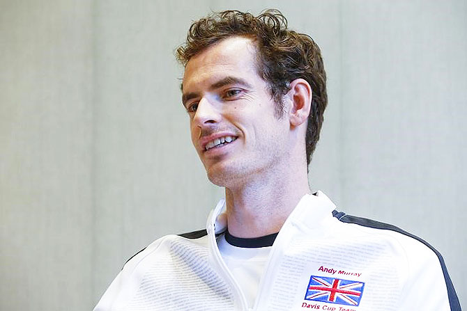 Rediff Sports - Cricket, Indian hockey, Tennis, Football, Chess, Golf - Here is what Murray thinks about the future of British tennis