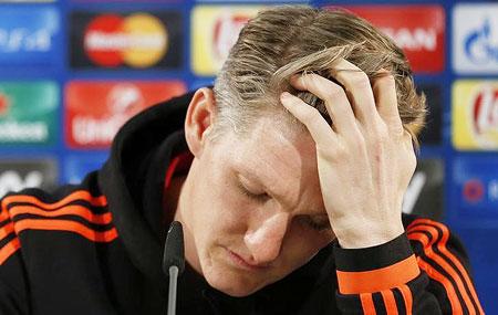 Rediff Sports - Cricket, Indian hockey, Tennis, Football, Chess, Golf - Injured Schweinsteiger doubtful to play any more this season: Van Gaal