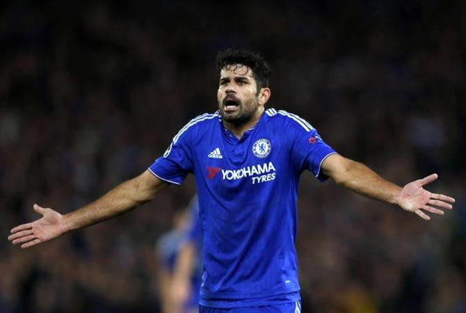 Rediff Sports - Cricket, Indian hockey, Tennis, Football, Chess, Golf - Chelsea treating me like a criminal: Costa