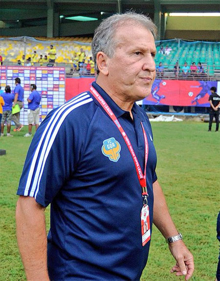 Rediff Sports - Cricket, Indian hockey, Tennis, Football, Chess, Golf - Zico leaves FC Goa after three seasons in charge