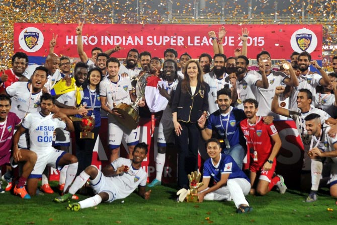 Rediff Sports - Cricket, Indian hockey, Tennis, Football, Chess, Golf - ISL 2016 final to be played in Kochi