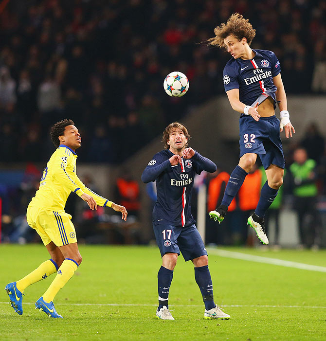 Photos Chelsea Vs Paris Saint Germain: Champions League PHOTOS: Cavani Strikes Equaliser Against