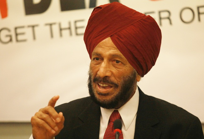 Legendary athlete Milkha Singh