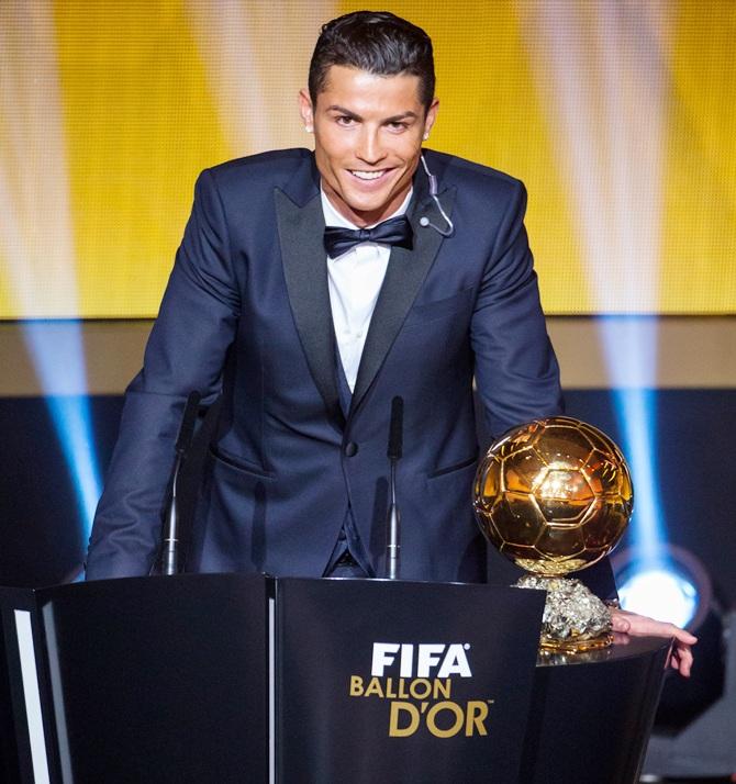 Rediff Sports - Cricket, Indian hockey, Tennis, Football, Chess, Golf - Pogba tips Ronaldo for Ballon d'Or glory