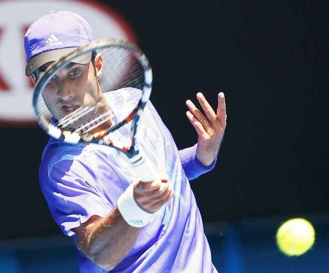 Rediff Sports - Cricket, Indian hockey, Tennis, Football, Chess, Golf - Yuki falls to make cut for Australian Open