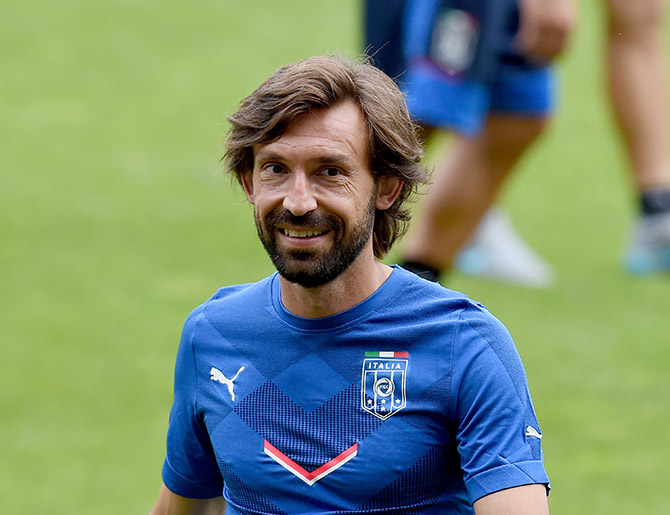 Rediff Sports - Cricket, Indian hockey, Tennis, Football, Chess, Golf - The genius and magic of Andrea Pirlo