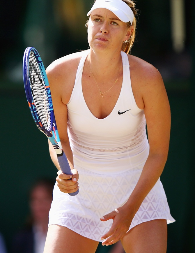 Rediff Sports - Cricket, Indian hockey, Tennis, Football, Chess, Golf - Is this the sign that French Open chief will snub Sharapova?