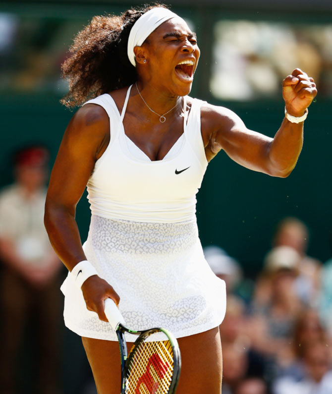 factbox wimbledon champion serena williams sports. Black Bedroom Furniture Sets. Home Design Ideas